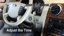 2007 Ford Freestyle Limited 3.0L V6 Clock