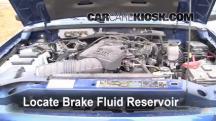 1999 Ford Ranger XLT 4.0L V6 Extended Cab Pickup (4 Door) Brake Fluid