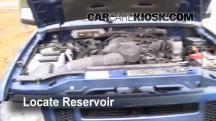 1999 Ford Ranger XLT 4.0L V6 Extended Cab Pickup (4 Door) Windshield Washer Fluid