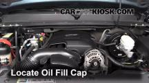 2007 GMC Sierra 1500 SLE 4.8L V8 Extended Cab Pickup (4 Door) Oil