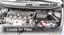 2007 Honda Civic LX 1.8L 4 Cyl. Sedan (4 Door) Air Filter (Engine)