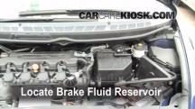 2007 Honda Civic LX 1.8L 4 Cyl. Sedan (4 Door) Brake Fluid
