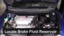 2007 Honda Civic Si 2.0L 4 Cyl. Coupe (2 Door) Brake Fluid