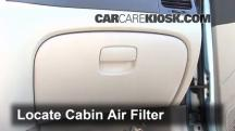 2007 Hyundai Accent SE 1.6L 4 Cyl. Air Filter (Cabin)