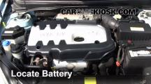 2007 Hyundai Accent SE 1.6L 4 Cyl. Battery