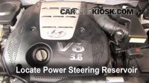 2007 Hyundai Azera SE 3.8L V6 Power Steering Fluid