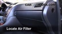 2007 Lexus GS350 3.5L V6 Air Filter (Cabin)