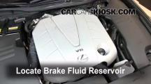 2007 Lexus GS350 3.5L V6 Brake Fluid