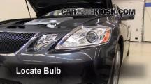 2007 Lexus GS350 3.5L V6 Lights