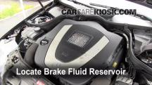 2007 Mercedes-Benz C230 Sport 2.5L V6 FlexFuel Brake Fluid