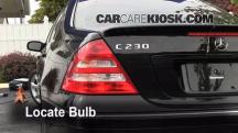 2007 Mercedes-Benz C230 Sport 2.5L V6 FlexFuel Lights