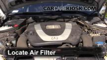 2007 Mercedes-Benz C280 4Matic 3.0L V6 Air Filter (Engine)