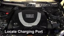2007 Mercedes-Benz CLK550 5.5L V8 Convertible (2 Door) Aire Acondicionado