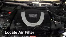 2007 Mercedes-Benz CLK550 5.5L V8 Convertible (2 Door) Filtro de aire (motor)