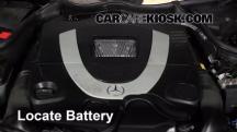 2007 Mercedes-Benz CLK550 5.5L V8 Convertible (2 Door) Batería