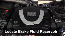 2007 Mercedes-Benz CLK550 5.5L V8 Convertible (2 Door) Brake Fluid