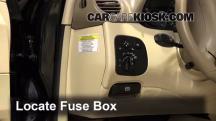 2007 Mercedes-Benz CLK550 5.5L V8 Convertible (2 Door) Fusible (interior)