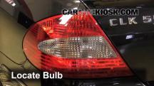 2007 Mercedes-Benz CLK550 5.5L V8 Convertible (2 Door) Lights