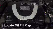 2007 Mercedes-Benz CLK550 5.5L V8 Convertible (2 Door) Oil