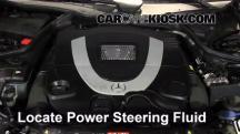 2007 Mercedes-Benz CLK550 5.5L V8 Convertible (2 Door) Líquido de dirección asistida