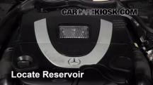 2007 Mercedes-Benz CLK550 5.5L V8 Convertible (2 Door) Líquido limpiaparabrisas