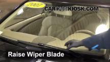 2007 Mercedes-Benz CLK550 5.5L V8 Convertible (2 Door) Escobillas de limpiaparabrisas delantero