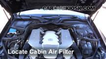 2007 Mercedes-Benz CLS63 AMG 6.3L V8 Air Filter (Cabin)