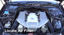 2007 Mercedes-Benz CLS63 AMG 6.3L V8 Air Filter (Engine)