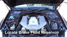 2007 Mercedes-Benz CLS63 AMG 6.3L V8 Brake Fluid