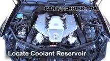 2007 Mercedes-Benz CLS63 AMG 6.3L V8 Coolant (Antifreeze)