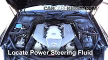 2007 Mercedes-Benz CLS63 AMG 6.3L V8 Power Steering Fluid