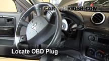 2007 Mitsubishi Raider LS 3.7L V6 Extended Cab Pickup Compruebe la luz del motor