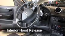 2007 Mitsubishi Raider LS 3.7L V6 Extended Cab Pickup Belts