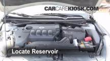 2007 Nissan Altima S 2.5L 4 Cyl. Windshield Washer Fluid