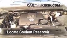 2007 Nissan Titan SE 5.6L V8 Crew Cab Pickup Mangueras