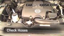 2007 Nissan Titan SE 5.6L V8 Crew Cab Pickup Hoses