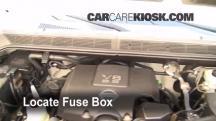 2007 Nissan Titan SE 5.6L V8 Crew Cab Pickup Fusible (motor)