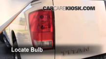 2007 Nissan Titan SE 5.6L V8 Crew Cab Pickup Lights