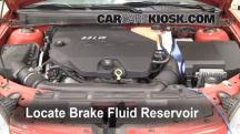 2007 Pontiac G6 3.5L V6 Brake Fluid