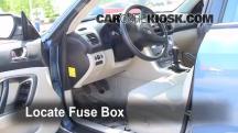 2007 Subaru Legacy 2.5i Special Edition 2.5L 4 Cyl. Sedan Fuse (Interior)