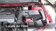 2007 Toyota Corolla CE 1.8L 4 Cyl. Air Filter (Engine)