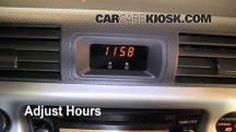 2007 Toyota FJ Cruiser 4.0L V6 Clock