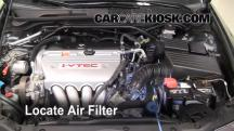 2008 Acura TSX 2.4L 4 Cyl. Air Filter (Engine)