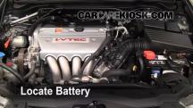 2008 Acura TSX 2.4L 4 Cyl. Battery