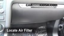 2008 Audi A3 Quattro 3.2L V6 Filtro de aire (interior)
