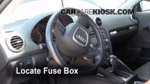 2008 Audi A3 Quattro 3.2L V6 Fusible (interior)