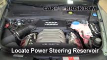 2008 Audi A6 3.2L V6 Power Steering Fluid