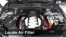2008 Audi S5 4.2L V8 Air Filter (Engine)