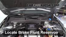2008 Audi S5 4.2L V8 Brake Fluid