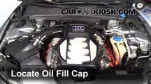 2008 Audi S5 4.2L V8 Aceite